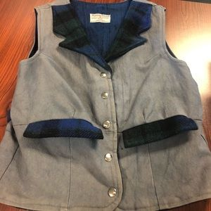 Vintage Harris Tweed vest